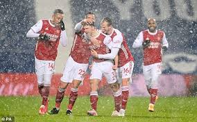 June 14, 2021 1:30 pm West Brom 0 4 Arsenal Gunners Get Third Straight Win As They Demolish Sorry Baggies Daily Mail Online