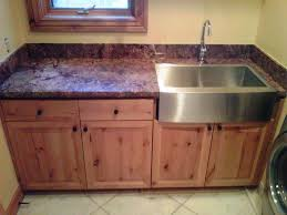 Wood Utility Cabinet Furniture Inspiring Utility Sink Cabinet For Laundry