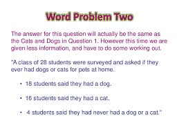 Examples Of Venn Diagram Problems With Answers Venn Diagram Word Problems