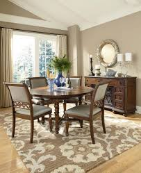 Round Table Dining Room Sets Amazing Beach House Formal Dining Room Sets Design With White