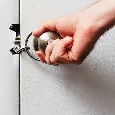 Strike Plate Locks Door Chain Flip Lock Double Protection