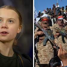 Unerwartete Wahlkampfhilfe: US-Wahl: Thunberg wirbt offen für Biden – die  Taliban für Trump