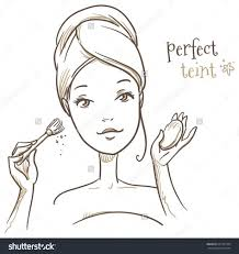 pin by tonia on make me pretty ilration art sketches makeup drawing