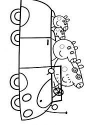 Small Picture Peppa Pig coloring pages drawing picture 37 15 anos Pinterest