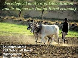 sociological analysis of globalization and its impact on rural economy