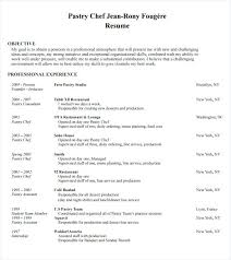 Resume Sample For Chef Chef Resume Example Chef Resume Sample
