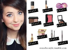 for her everyday makeup zoella is using this nars sheer glow foundation in mont blanc