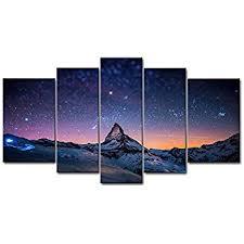 canvas wall art 5 piece