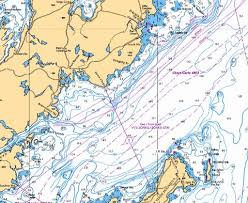 Trinity Bay Northern Portion Partie Nord Marine Chart