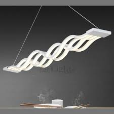 pendant led lighting fixtures. Modern Hanging Wave Shaped Led Pendant Lighting In Light Design 4 Fixtures I