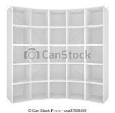 本棚 白 空 背景