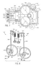 patent us6732701 oil circuit for twin cam internal combustion patent drawing