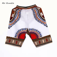 New Shorts Design Us 7 83 20 Off New Fashion Design African Traditional Print Cotton Dashiki Short Mens African Beach Short Free Shipping In Africa Clothing From