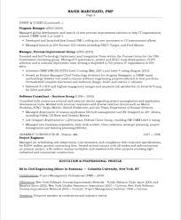 It Project Manager Free Resume Samples Blue Sky Resumes With
