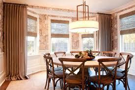 70 round dining table inch round dining table dining room transitional with bamboo roman shade bay