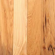 Rustic Wood Flooring Bruce Hickory Rustic Natural 3 4 In Thick X 3 1 4 In Wide X