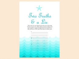 Old Wives Tales Gender Game Nautical Beach Baby Shower Games Beach Theme Baby Shower Games