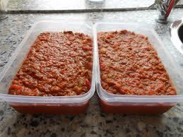 Spaghettisaus voor 20 personen