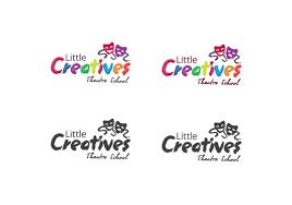 Theatre Company Logo Design Little Creatives Theatre Company 39 Logo Designs For