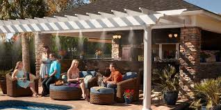 MistAmerica  Cooling Misting Systems Outdoor Heating DustOdor Backyard Misting Systems