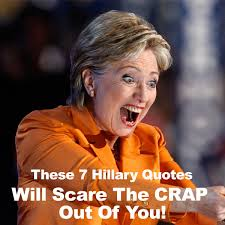 Hillary Clinton Quotes Mesmerizing These 48 Hillary Clinton Quotes Will Scare The CRAP Out Of You