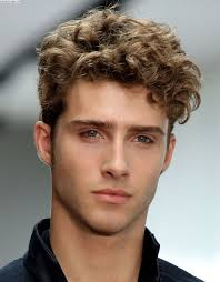 hairstyles for men curly hair