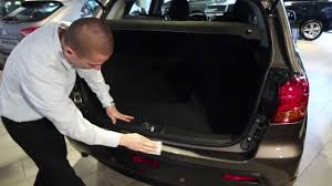 Rear bumper protector assembly - YouTube