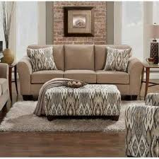 affordable furniture sensations red brick sofa. Affordable Furniture Mfg 5003 Sofa - Chic Mocha Sensations Red Brick R
