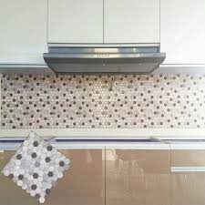 self adhesive backsplash wall tiles charming 3d mosaic stone tile l and stick backsplash removable self