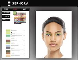 virtual makeover celebrities beauty