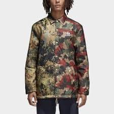adidas clothing. adidas - pharrell williams hu hiking camo coach jacket multicolor / hemp cy7864 clothing o