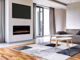 colt in electric fireplace cel 50 inch insert linear