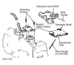 1998 chevy cavalier neutral safety switch transmission problem yes your vehicle s park neutral position pnp switch is adjustable follow the steps below to do so