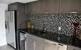 Small Picture Black And White Kitchen Tile Chic Kitchen Features White