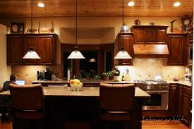 Kitchens Decorated For Christmas Best Ideas For Decorating Above Kitchen Cabinets For Christmas 55