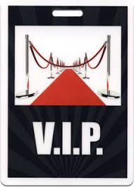 Event Badge Template Vip Ropes Red Carpet Badge Black From Admit One Products Event