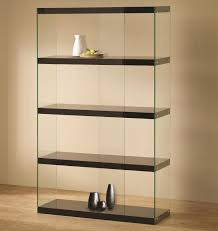 ... Bookshelf, Exciting Glass Bookcases Glass Door Bookcase Black With Glass  Bookcases And Gucci: amazing ...