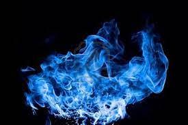 Blue Fire Wallpaper HD on WallpaperSafari