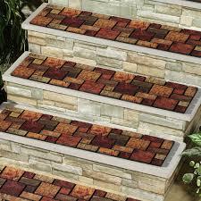 preparing outdoor non slip stair treads the wooden houses