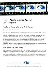 how to write an essay about a movie resume formt cover letter how to write an essay about a movie