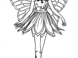 41 Fairy Princess Coloring Pages Printable Barbie Mariposa And The