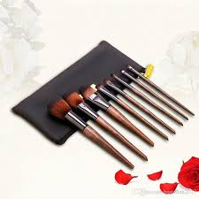 makeup brushes set walnut professional synthetic high end make up brush set for cosmetic make up contouring powder contour foundation australia 2019 from