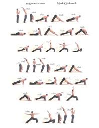 sequence1 pinner said i did this yoga sequence for an hour everyday for a year and loved it seriously improved my overall health