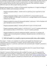 Assessment Planning Guide For University Of Rochester Graduate
