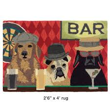 bar patrol dogs indoor outdoor rugs by liora manne