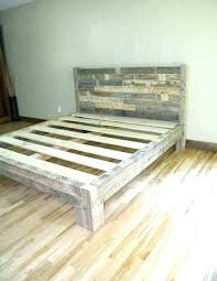 reclaimed wood bed frame. Distressed Wood Bed Frame Best Reclaimed Beds Ideas .