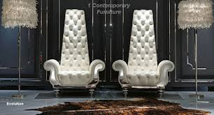 modern designer sofa and chairs
