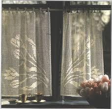 Free Crochet Curtain Patterns Simple Decoration