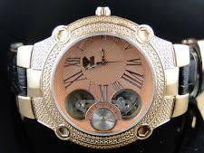 kc techno watches mens new aqua master jojo joe rodeo techno kc rose gold automatic diamond watch