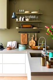 Paint Color For Small Kitchen Kitchen Accessories Stunning Modern One Wall Kitchen Design Ideas